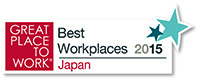 GREAT PLACE TO WORK Best Workplaces 2015 Japan